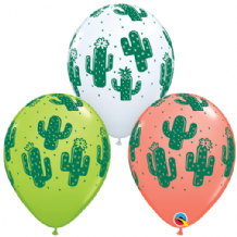 Cactuses Balloons - 11 Inch Balloons 25pcs